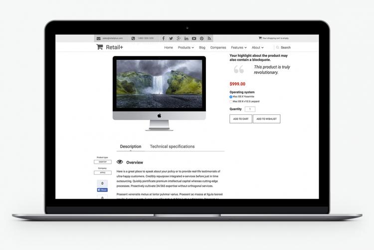 Affix-powered presentation for sales conversion